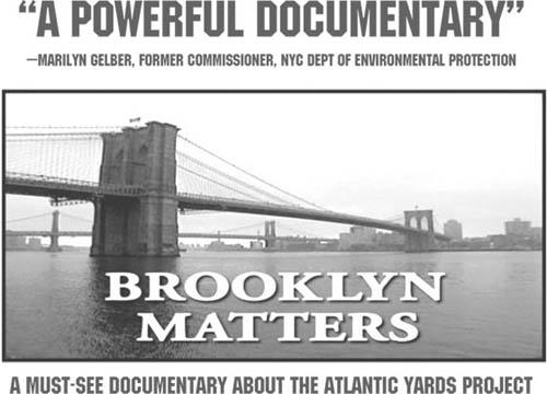 Brooklyn Matters Poster