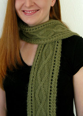 * Ropes & Ladders (bet this knits up quicker than this lace scarf!  LOL)