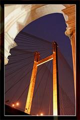 standing tall... (Soumya Bandyopadhyay) Tags: bravo canon50mmf18 canoneosdigitalrebelxt blueribbonwinner 2ndhooglybridge princepghat vidyasagarsetu impressedbeauty superaplus aplusphoto superhearts