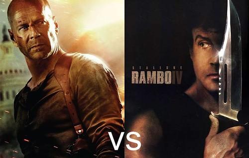 John McClane vs John Rambo