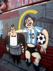 Diego Maradonna painting 1