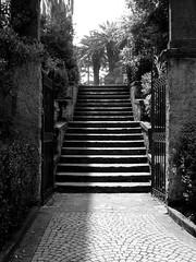 scalinatella (le bateau ivre (...pleins les tiroirs)) Tags: contrast steps staircase napoli naples scala contrasto scalini capodimonte luceeombra