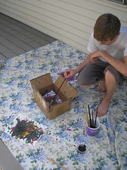 Jackson Pollock-Action Spatter