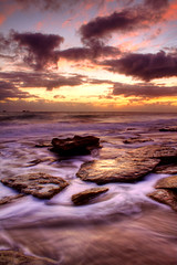 Burns Beach Sunset (Senrab4) Tags: sunset cold waves afterthestorm perth wa westernaustralia hightide theburbs burnsbeach inthesuburbs mywinner ysplix