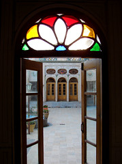 Open to the History (Alieh) Tags: old windows house home persian ancient doors iran persia oldhouse iranian  esfahan  isfahan     aliehs alieh       dralamhouse  dralam