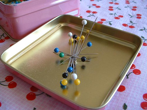 Pin Box Lid With Pins