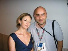 Io e Diane Lane (Il Tanganelli) Tags: mostra cinema del 2006 diane lane di venezia