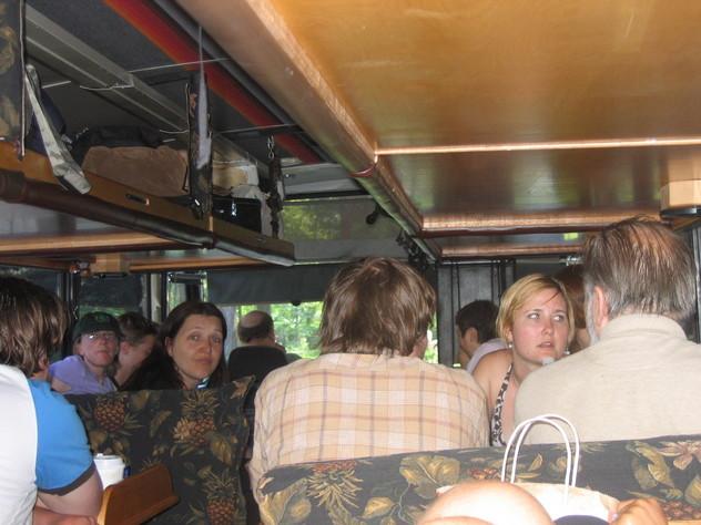 Autobús transformer del Green tortoise