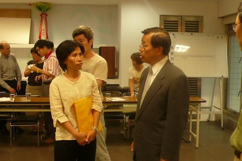 蘭嶼在台協會發起人拜會民主進步黨總統候選人謝長廷