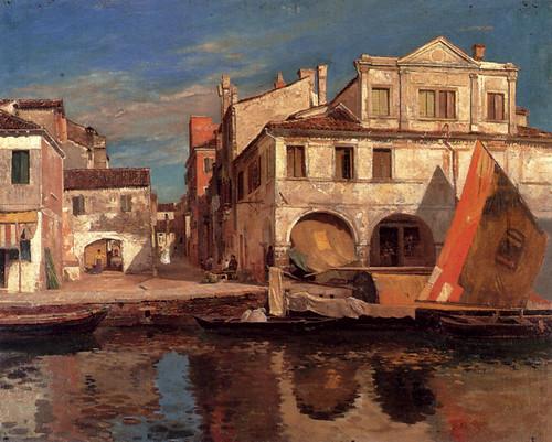 Canal Scene in Chioggia