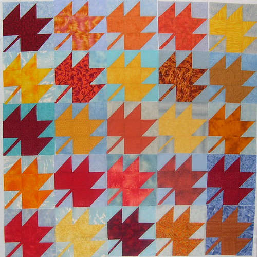 Maple Leaf Blocks 76-100
