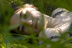 061407 (austinspace) Tags: light shadow summer portrait woman grass washington student spokane dress explore cheney eastern ewu easternwashingtonuniversity 100cottonbiodegradabledress thegalleryoffineportraitphotography