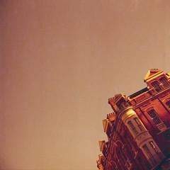 #london #redscale #redskies (Laszlo_Gerencser) Tags: london redscale lomography rx iso 50200 film analog soho