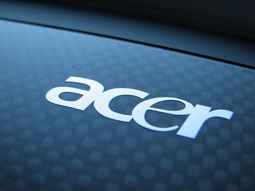 Acer when they released the Ferrari branded Acer laptop a few years ago.