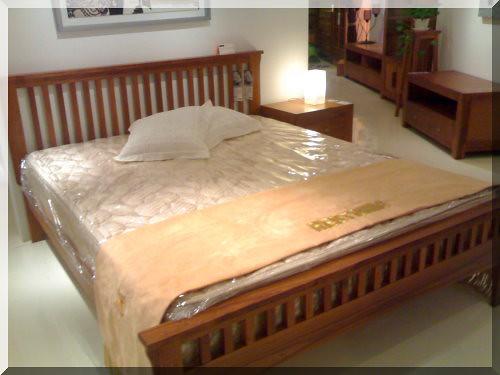 家具-詩肯柚木 床架-2