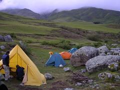 Campamento en La Ciénaga