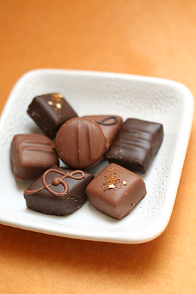 Chocolates from Josephine Vannier