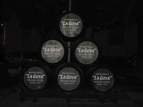Barricas de Vino Manzanilla
