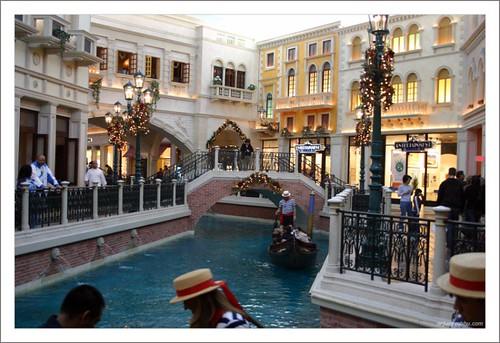 Gondola Rides inside Venetian - Las Vegas