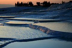 Waters and Terraces and Trees - The Travertine Terraces of Pamukkale, Turkey