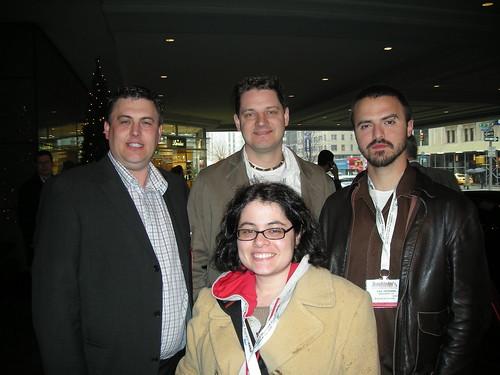 Dave Naylor, Todd Friesen, Dax Herrera and Tamar Weinberg