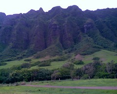 Valley at Kualoa Ranch