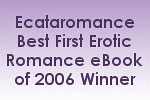 Best First Erotic Romance award