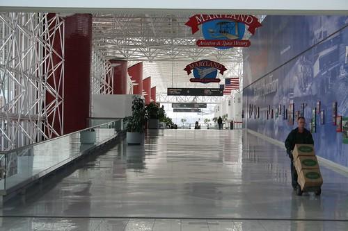 Baltimore-Washington International Airport Hallway