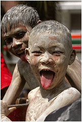 Songkran-Thailand (kinginexile) Tags: water kids portraits children thailand asia smiles festivals buddhism newyear pattaya songkran chonburi itsonginvite itsongmirrorssoutheastasia sanook