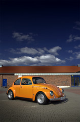 Low Orange 12 (Andreas Reinhold) Tags: sky orange bug volkswagen beetle nd polarizer hdr type1 wolle sigma1770 loworange