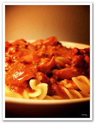 Do you see a flower? (vanarts) Tags: food singapore pasta cy tomatosauce cy2 challengeyouwinner