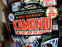 Kamandi - Red Baron cover (animusicsf) Tags: anime comics comic fear dolphins cartoons redbaron kamandi sd600