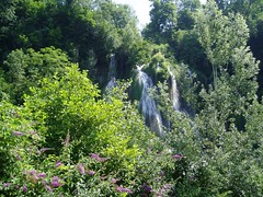 Waterfall at Glandieu