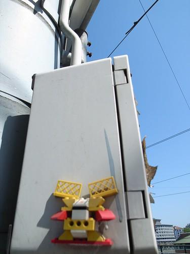 Lego street art