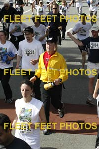 Luc at the sunrun finish line