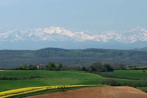 Vue de Carla-Bayle (Ariège)