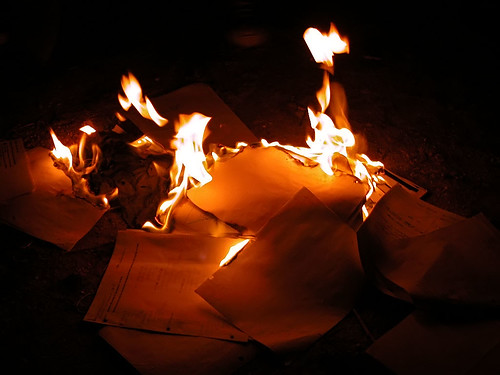 b6811b17 At the end of this school year, the daughter is inviting some friends from  her chem class over to burn their notes. They want to burn the teacher,  too, ...
