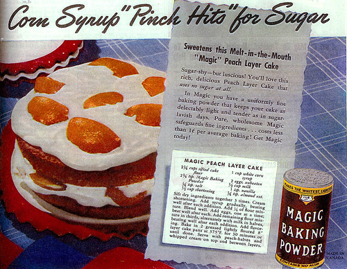 "Vintage Ad #224 - Corn Syrup ""Pinch Hits"" for Sugar"