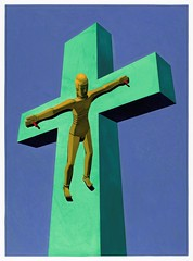 05菩薩「定」在十字架上 Bodhisattva on the Cross