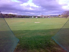 Outlook from bay at Port Royal Golf Driving Range, Edinburgh