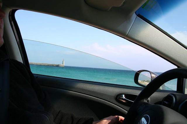 mediterranean sea at tarifa