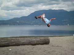 Somersault over Kits Beach - Image593
