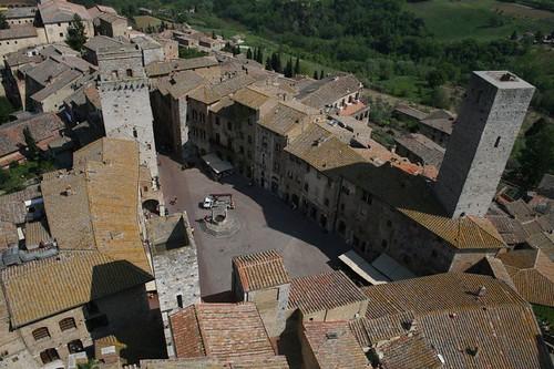 View of Piazza della Cisterna