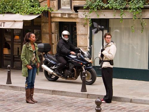 Street fashion shoot, Paris