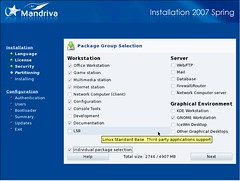 Mandriva Installation Screenshot 6