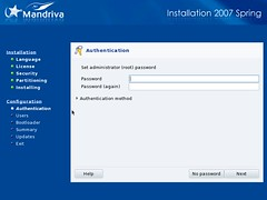 Mandriva Installation Screenshot 10