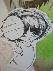 u wanna wowwlypop?? sticker!!! (little-lil) Tags: pen sticker paint graph spray cardboard graffitti lil marker sharpie badges trade trashisfesch