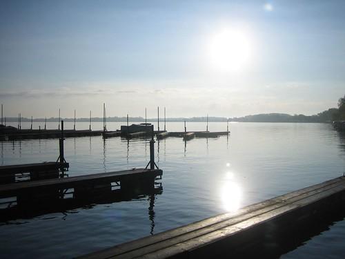 Sunrise over Lake Waconia