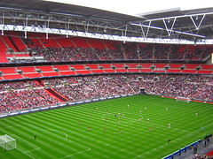 Wembley Stadium (StewieD) Tags: football fussball stadium soccer stadion futebol stade ftbol voetbal wembley wembleystadium fusball estadi fotbol kidderminsterharriers stevenageborough fatrophyfinal