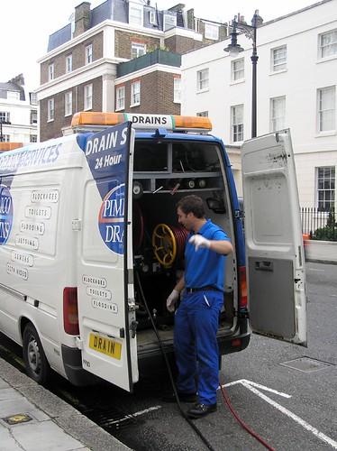 Drain cleaning Belgravia London